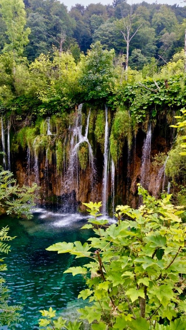 cascate dei laghi di plitvice in croazia
